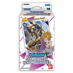 Digimon Card Game: Starter Deck: Venomous Violet