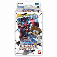 Digimon Card Game: Starter Deck - Machine Black