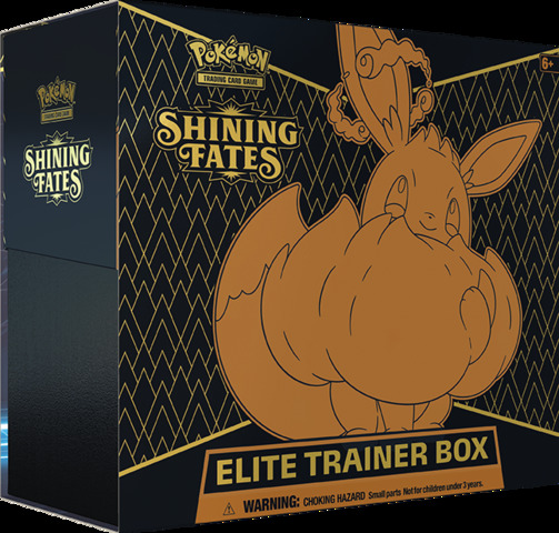 Shining Fates Elite Trainer Box RELEASE DATE 2/19/21 LIMIT 4 PER CUSTOMER