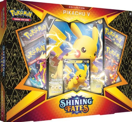 Shining Fates Collection - Pikachu V