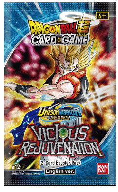 Dragon Ball Super - Unison Warrior Series Vicious Rejuvenation Booster Pack