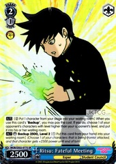 Ritsu: Fateful Meeting (SR) - MOB/SX02-077S - SR