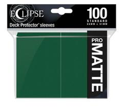 Ultra Pro - Eclipse Pro Matte Standard Sleeves: Forest Green 100ct