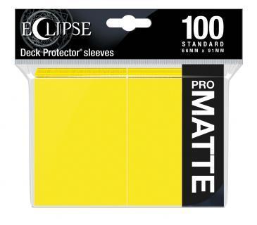 Ultra Pro - Eclipse Pro Matte Standard Sleeves: Lemon Yellow 100ct