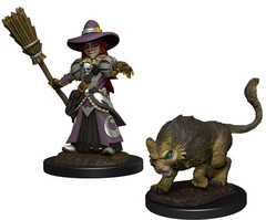 Wardlings: Girl Witch & Cat