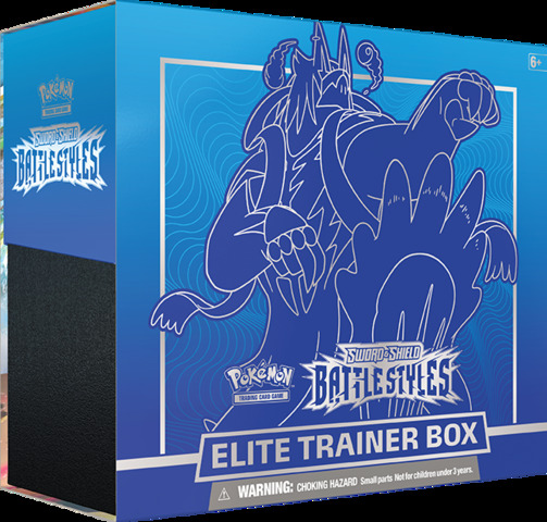 SS: Battle Styles Blue - Elite Trainer Box