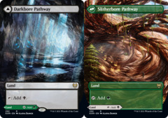 Darkbore Pathway // Slitherbore Pathway - Foil - Borderless