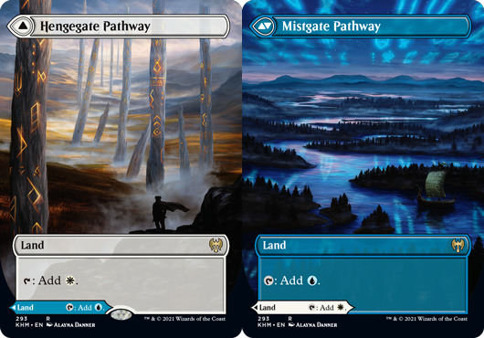 Hengegate Pathway // Mistgate Pathway - Foil - Borderless