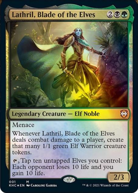 Lathril, Blade of the Elves - Foil