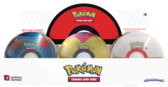 PokeBall Tin - Poke Ball Display (Level Ball) (Spring 2021)