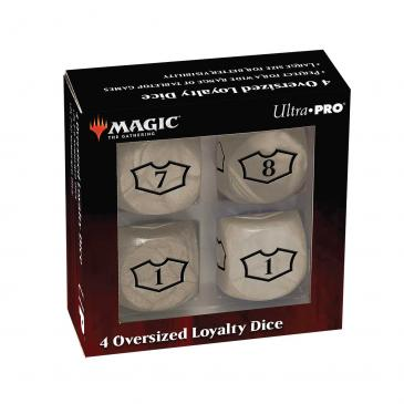 Ultra Pro - Deluxe 22MM Plains Loyalty Dice Set with 7-12 for Magic: The Gathering