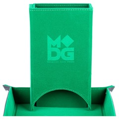Metallic Dice Games Green Fold Up Dice Tower