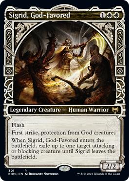 (301) Sigrid, God-Favored - FOIL - SHOWCASE