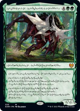 Vorinclex, Monstrous Raider - Foil - Phyrexian