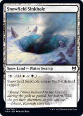 Snowfield Sinkhole