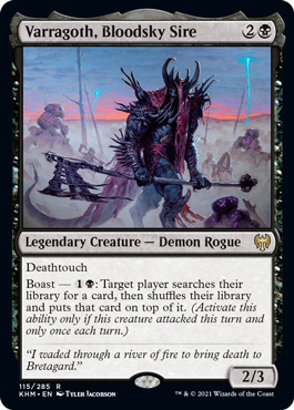 Varragoth, Bloodky Sire