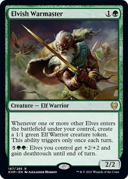 Elvish Warmaster - Foil