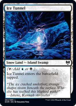 Ice Tunnel - Foil