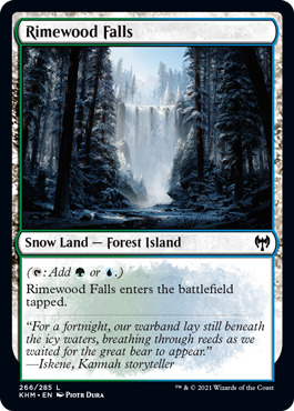 Rimewood Falls - Foil