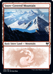 Snow-Covered Mountain (283) - Foil