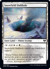 Snowfield Sinkhole - Foil