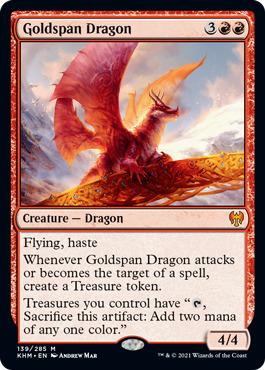 Goldspan Dragon - Foil