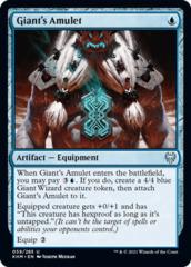 Giant's Amulet - Foil
