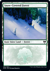 Snow-Covered Forest (284) - Foil