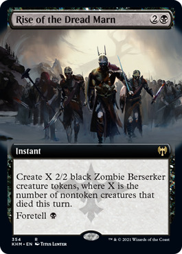 Rise of the Dread Marn - Foil - Extended Art