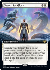 (340) Search for Glory - FOIL - EXTENDED ART