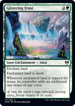 Glittering Frost - Foil