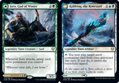 Jorn, God of Winter // Kaldring, the Rimestaff - Foil