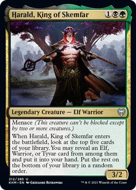 Harald, King of Skemfar - Foil