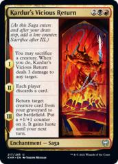 Kardur's Vicious Return - Foil