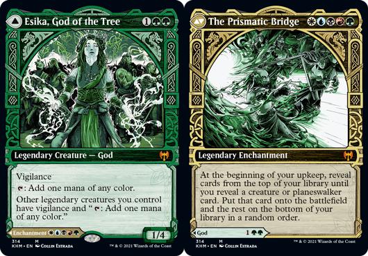 Esika, God of the Tree // The Prismatic Bridge - Showcase