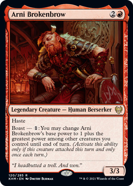 Arni Brokenbrow - Foil