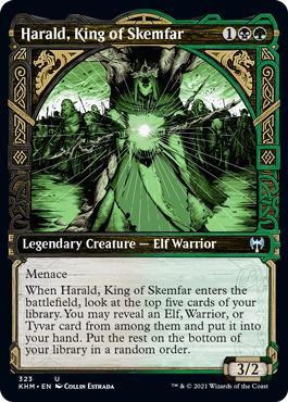 Harald, King of Skemfar - Foil - Showcase