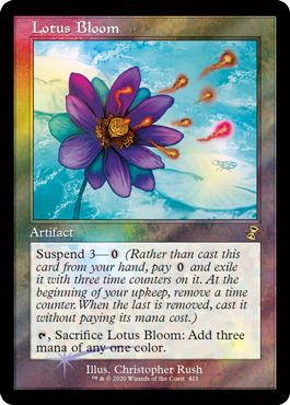 Lotus Bloom - Foil - Release Promo