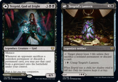 Tergrid, God of Fright // Tergrid's Lantern - Foil