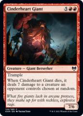 Cinderheart Giant - Foil