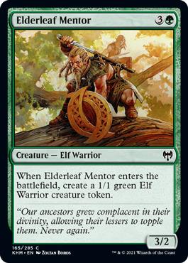 Elderleaf Mentor - Foil
