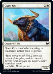 Giant Ox - Foil