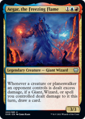 Aegar, the Freezing Flame - Foil (KHM)