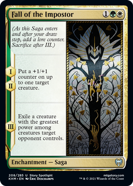 Fall of the Impostor - Foil