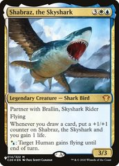Shabraz, the Skyshark - The List