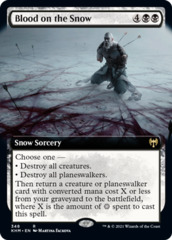 Blood on the Snow - Extended Art