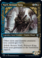 (329) Narfi, Betrayer King - FOIL - SHOWCASE