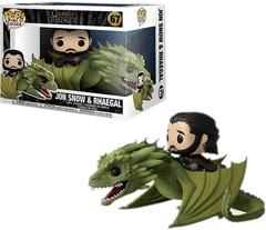 POP! Rides - #67 - Jon Snow & Rhaegal (Game of Thrones)
