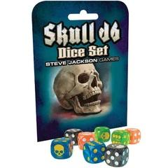 Steve Jackson Games: Skull D6 Dice Set