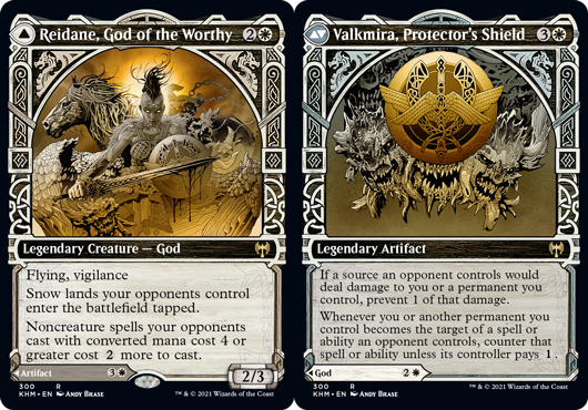 Reidane, God of the Worthy // Valkmira, Protectors Shield - Showcase